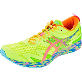 asics Gel-Noosa Tri 12 Schoenen Heren, safety yellow/hot pink